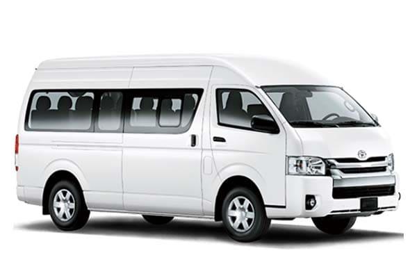 hiace 14 seat - adcom'z tour travel bandung